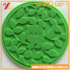 Food Grade Silicone with Debossed Logo Pure Colors Cup Lid