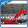 Red Color Sealed / Airtight Inflatable Yacht Water Slide