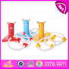 Cute Wooden Ring Toss Game Set En71 Certified, Outdoor and Garden Wooden Quoit Ring Toss Set Game W01A126