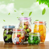 Lead Free Glassware Kitchenware Food Jar Large Size Glass Food Containers
