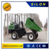 Small Garbage Truck 4X4 Mini Rubbish Truck Site Dumper