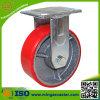 Polyurethane on Cast Iron Core Wheel Caster