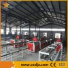 WPC Wood Plastic Profile Twin Screw Extrusion Production Line