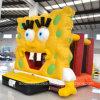 Inflatable Yellow Moonwalk Bouncer (AQ317)