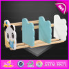 2016 Brand New Wooden Bookend, Cartoon Bookend for Students, Lovely Wooden Bookend W08d064A