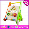 En71 Standard Multi-Functional Colorful Wooden Big Wooden Activity Baby Walker W16e047