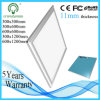 Slim Ceiling Silver or White Aluminum 100lm/W 30*30cm LED Light Panel with Mounting Fixture