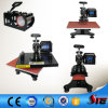 CE Certificate Combo Swing Arm Heat Press Transfer Machine