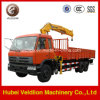 Dongfeng Truck with 10 Ton Crane (straigh arm)