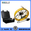 Push Rod Pan Tilt Sewer Pipe Inspection Camera with Meter Counter Function