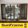 Aluminium Wood Texture Sliding Door