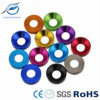 6061 Aluminum Alloy Colorful Anodized Countersunk Washer
