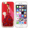 Hot-Selling Painted Quicksand Bridal Veil Mobile/Cell Phone Case for iPhone 4/5/6/6plus
