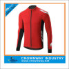 Warmth and Insulation Long Sleeve Cycling Jersey with Reflective Trims