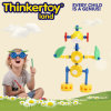 DIY Plastic Human Shape Model Education Toy Kids Puzzle