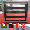 Woodgrain Color Plastic Single Hung Window, Sliding Window