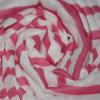 100%Polyester Fake Linen Stripe Jersey