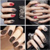 3D Crystal DIY Decoration Water Nail Art Stickers Nail Sticker