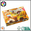 Colorful Four Corner Setup Food Grade Donuts Paper Packaging Box