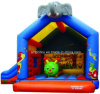 Inflatable Elephant Castle Bouncer for Kids