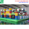 Fruit Design Kids Inflatable Bouncer Slide, Inflatable Playground with Rain Cover (B-F18)