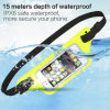 New Ipx8 Waterproof Running Belt Waist Bag with Fingerprint Scan