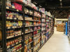 NSF Epoxy Coated Wire Metal Good Shelf Used Supermarket Equipment
