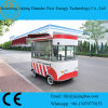 Electric Stripe Color Mini Cooking Trucks with Complete Cooking Equipments