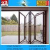 Hi-Q 8mm-12mm Frameless Folding Clear Float Glass Door Sliding Bi-Fold Door