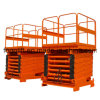 High Rise Scissor Cargo Lift for Warehouse