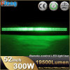 52 Inch Curved 300W Green LED Light Bar for Jeep