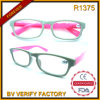 R1375 Shiny Color Plastic Frames Slim Unisex Reading Glasses