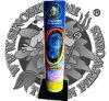 """No. 500 Sea-Blue Peony 3"""" Shell Tube Cake Fireworks"""