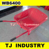 France Model Wb6400 Wheel Barrow with 4.00-8 Solid Rubber Wheel