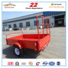 China High Quality Single Axle 6X4 Trailer for Farm
