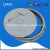 C250 Round 500*30mm SMC Vented Septic Tank Manhole Cover with Frame