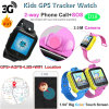 3G GPS WiFi Lbs Touch Screen Kids Smart Watch Tracker with Two Way Communication