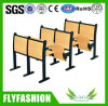 Strong Wooden School Furniture Table with Folding Chair (SF-03H)