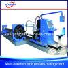 Fabrication Equipment Factory Price Big Diameter Square / Round Pipe Profle Plasma Flame Cutting Beveling Machine