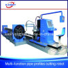 Factory Price Big Diameter Square / Round Pipe Plasma Flame Cutting/Beveling Machine
