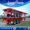 Tri Axle 40FT Flatbed Semi Trailer with 12unit Twist Locks