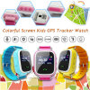 Colorful Touch Screen Kids GPS Tracker Watch with GPS+Lbs+WiFi Y7s