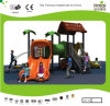 Kaiqi Small Forest Themed Children′s Playground with Slides (KQ20093A)