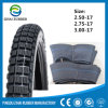 250-17 Natural Rubber Motorcycle Tyre and Inner Tube