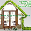 Circular/Round or Any Customized Shape Wood Specialty Glass Window, Top Quality Aluminum Wood Window