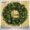 Handmade Holiday Outdoor Christmas Advent Wreath Decorations Light