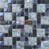 Titanium Crystal Mix Cracked Glass Mosaic (CFC514)