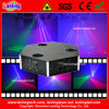 New 350mw RGB Three Heads Laser Stage Lighting Equipment
