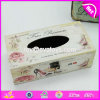 Wholesale Cheap Customize Houseware Wooden Tissue Box Holder/Cover W18A006