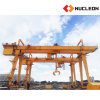 Multifunction Heavy Duty Gantry Crane with Grab Bucket